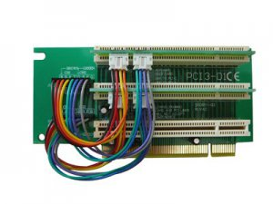 PCI RISER - 3 SLOTS - 3U - LOOKING DOWN - PCI 32 BIT COMPLIANT