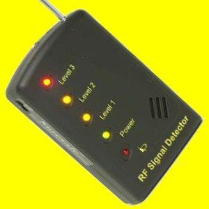 RF Signal Tracer Bug Detector Locate Hidden Camera Find Covert Wireless Spy Cam