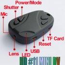 Spy Camera High Resolution H.264 720P Car Keyring Video Recorder