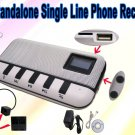TF card storage Standalone Telephone Call Recorder For Home and Business Use No need computer