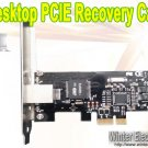 PC Desktop PCIE PCI Express Hard Drive Disk HD Data Recovery Protection Card