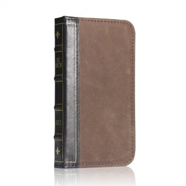 Galaxy S3 III i9300 Handmade Retro Genuine Leather Wallet Flip book Case Cover