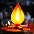 Antique Electrical BONFIRE LIGHTS Table Lamp Brightness Bright Light level Adjustable