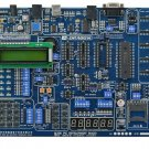 PIC Microchip MCU QL200 Development Board USB Programmer Kit RS232 Cable 16F877A Chip 1602 LCD
