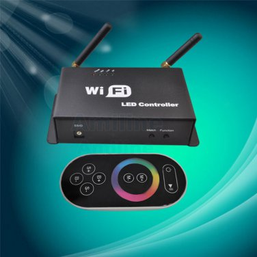 Android ios Mobile Phone wifi RF Controller Dimmer for Led Dream color Led Strip