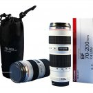 Coffee Thermos Cup Milk Water Tea Mug CUP Lens EF 70-200mm 1:4 USM White 1:1 Scale