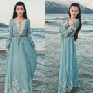 Elegant Women Fashion Vogue Hollow Lace BOHO Ball Gown Long Dresses Skirt