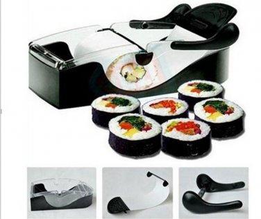 Kitchen Perfect Magic Roll DIY Easy Cutting Japanese Sushi maker Cutter Roller Machine