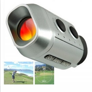 Digital 7x Golf Range Golfer Zoom Finder Golf Scope Golfscope Yards Measure Distance