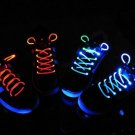 Light Up LED Waterproof Shoelaces Three modes On Strobe Flashing