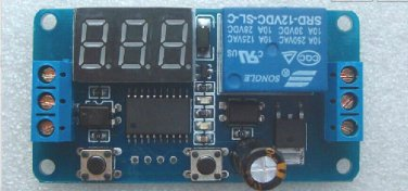 LED Display Digital Delay Timer countdown display Control Switch Module PLC Automation Board