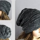 Knit Crochet Baggy Beanie Beret Hat Winter Warm Oversized Ski Cap