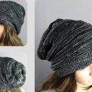 Knit Crochet Baggy Beanie Beret Hat Winter Warm Oversized Ski Cap