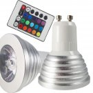 Magic Lighting LED Light Bulb And Remote With 16 Colors 5 Modes