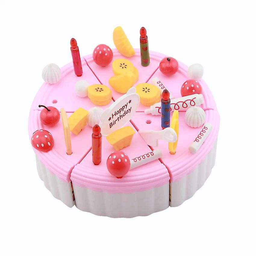 Fruit Birthday Cake Kids Kid Children Party Decoration Toy Imaginative Playset