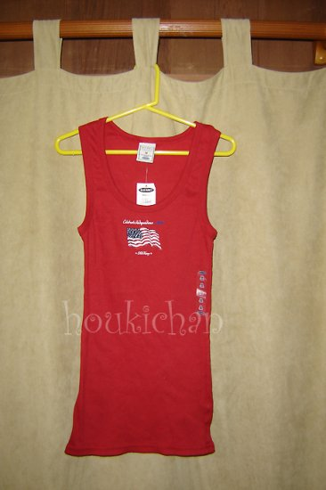 NWT Old Navy Flag Tank 2006