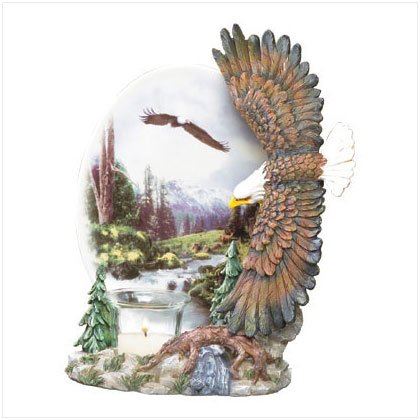 ALAB EAGLES PLATE VOTIVE HOLDR