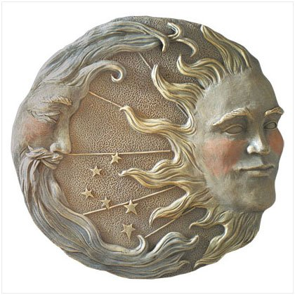 ALAB. SUN,MOON,STAR WALL PLAQUE