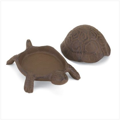 OLD WORLD TURTLE KEY HIDER