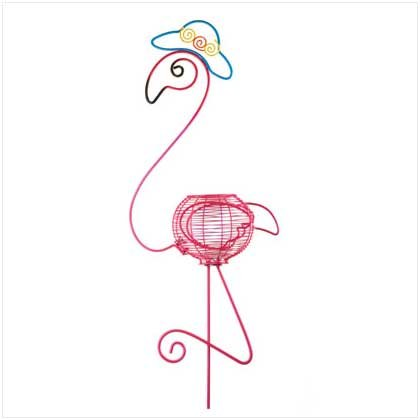 FLAMINGO FLOWER POT HOLDER