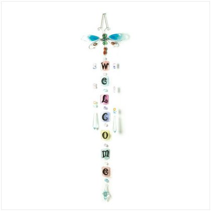 BUTTERFLY WELCOME SUNCATCHER