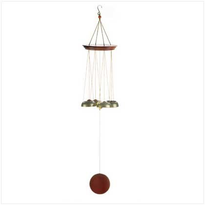 WOOD BELL WIND CHIMES
