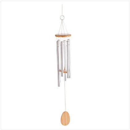 "24"" WOOD/ALUMINUM WINDCHIMES"