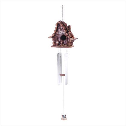 LOVE NEST BIRDHOUSE WINDCHIMES