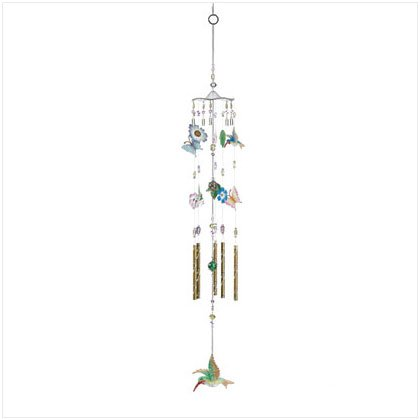 HUMMINGBIRD BEADS WINDCHIMES