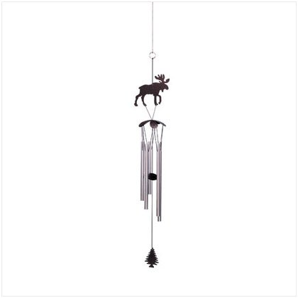 METAL MOOSE WINDCHIMES
