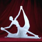 FROSTED DANCER SCULPTURE
