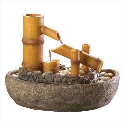 BAMBOO MOTION WATER FOUNTAIN