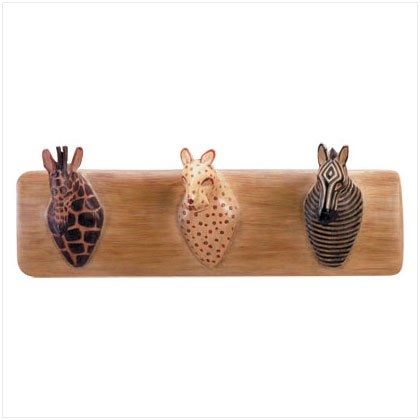 SAFARI ANIMAL COAT HANGER-ALAB