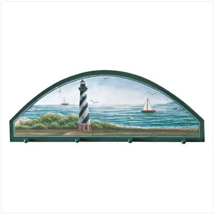 LIGHTHOUSE CLOTHES HANGER PLAQUE