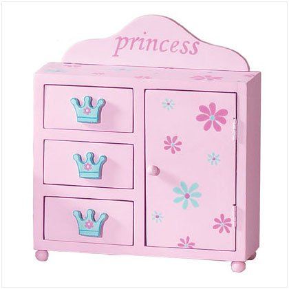 PRINCESS MINI CABINET W/DRAWERS