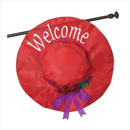 LADIES CLUB 'WELCOME' FLAG