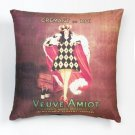VEUVE AMIOT ART PILLOW