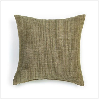 GREEN BRONSON TWEED PILLOW