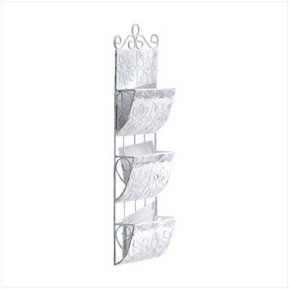 DISTRESS METAL TILE LETTERHOLDER