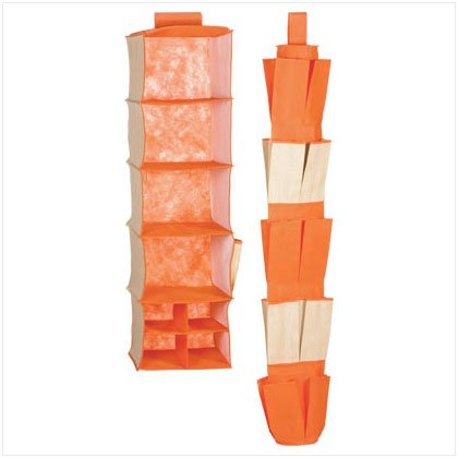 CLOSET ORGANIZER 2 PACK-ORANGE