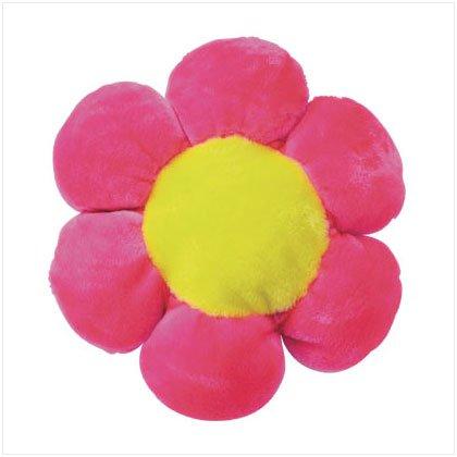 PINK PLUSH FLOWER CUSHION