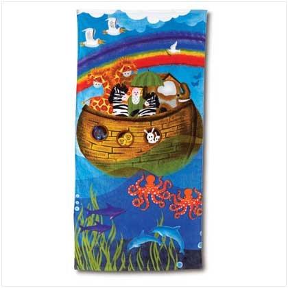 NOAH`S ARK DESIGN BEACH TOWEL