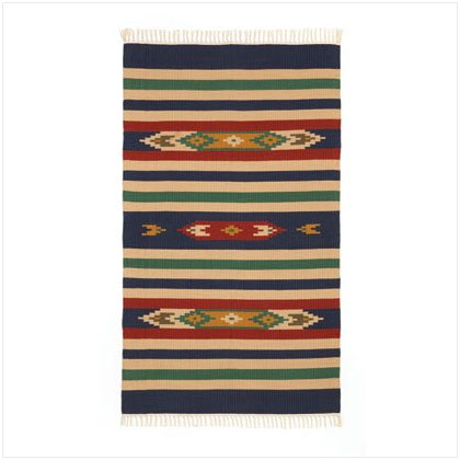 WESTERN COTTON CUT SHUTTLE RUG-2