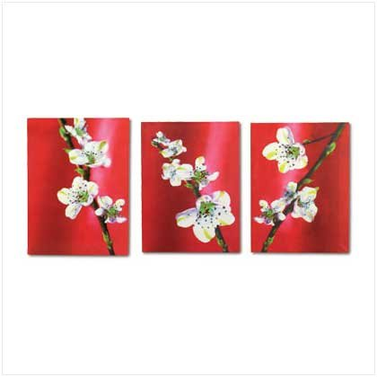 SET OF 3 APPLE BLOSSOM PRINTS