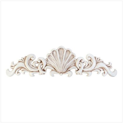 ALAB IVORY SCROLL WALL PLAQUE