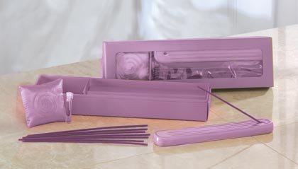 LAVENDER SACHET & INCENSE SET