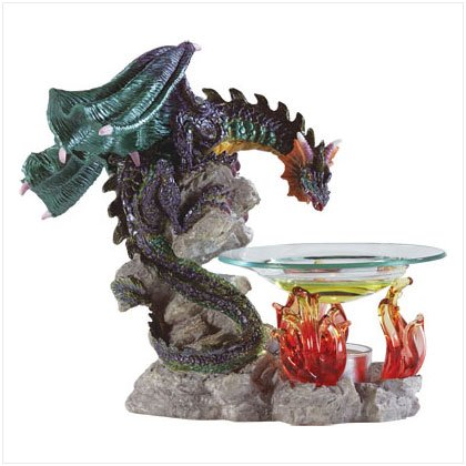ALAB DRAGON OIL BURNER ON FIRE