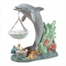 PORCELAIN DOLPHIN OIL BURNER