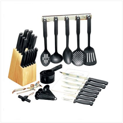 41 PC CUTLERY SET