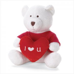 LOVE MESSAGE BEAR